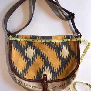Lucky brand messenger satchel Crossbody canvas bag